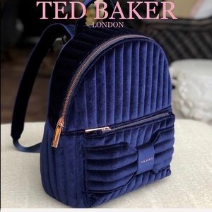 TED BAKER Velvet Bow backpack